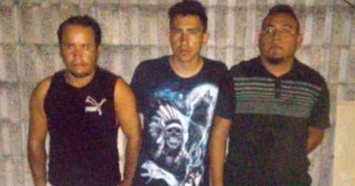 Capturan a tres pandilleros que delinquían en San Martín