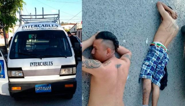 Capturan a pandilleros que se hacían pasar por instaladores de cable para robar en casas
