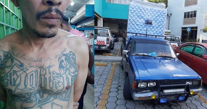 Arrestan a pandilleros cuando extorsionaban a comerciantes en San Salvador