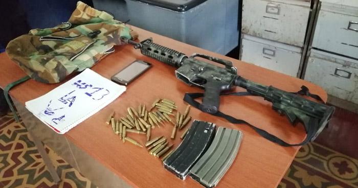 Capturan a pandilleros luego que asesinaran a un rival en Ahuachapán