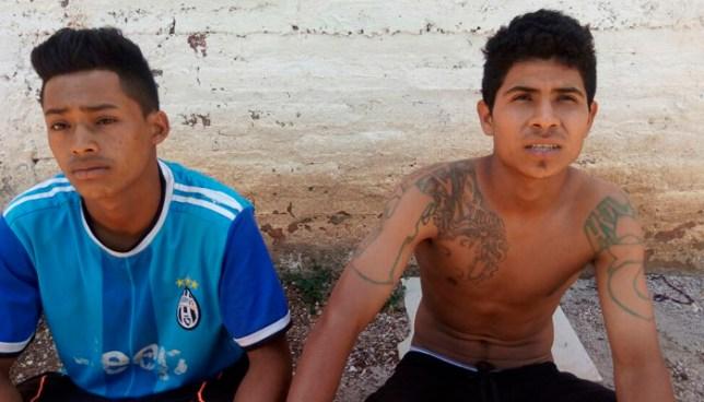 Capturan en Chalchuapa, a dos pandilleros que se movilizaban en una motocicleta Ninja y sin documentos