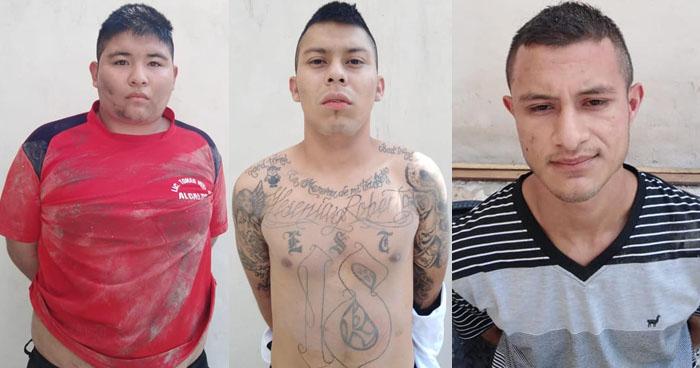 Pandilleros fueron captados en cámaras luego de robar en viviendas en la capital