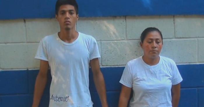 Pandilleros son detenidos mientras tenían secuestrada a una menor, en Sonsonate