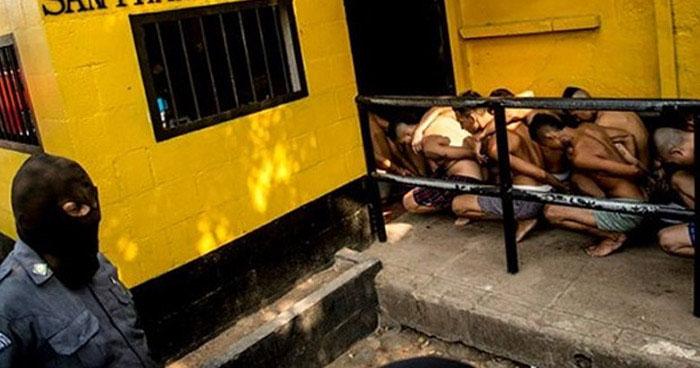"""Pandillero que salia en libertad fue detenido por llevar 13 """"wilas"""" en su estomago"""