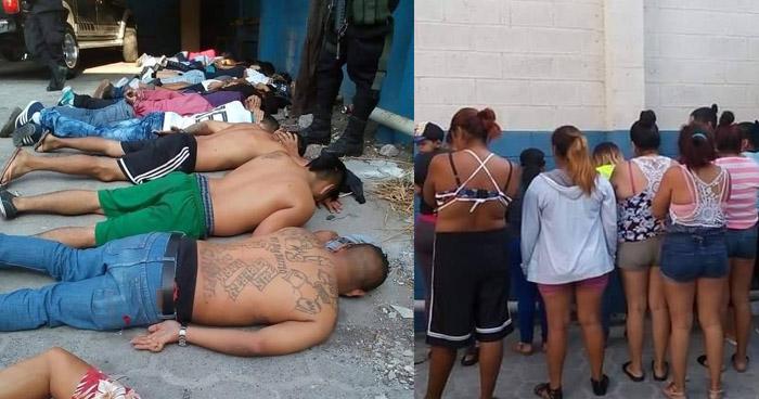 Detienen a pandilleros que se dirigían a la playa Costa del Sol