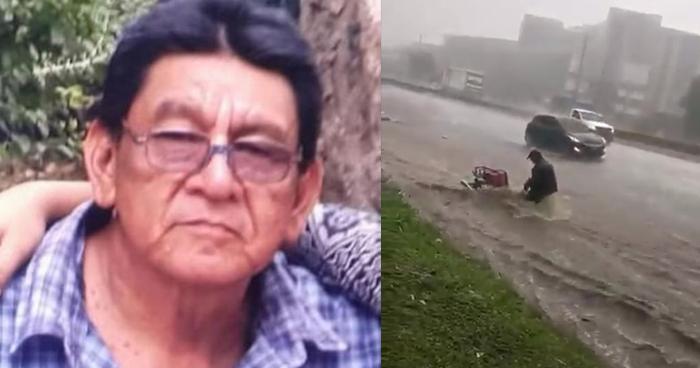 Encuentran cadáver de motociclista que fue arrastrado ayer por una corriente de agua en Los Chorros
