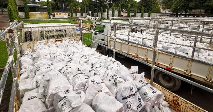 Gobierno duplicará paquetes alimenticios de 1.7 a 3.4 millones