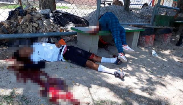 Pandilleros asesinan a pareja que departía en una cancha de San Martín, San Salvador