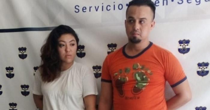 Capturan a pareja con 11 porciones de cocaína en San Miguel