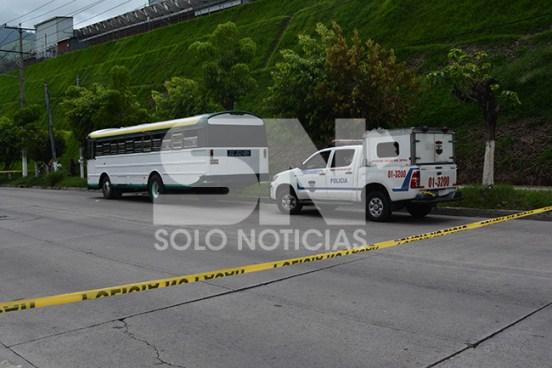 Hombre asesinado en bus de la ruta 116 en San Salvador
