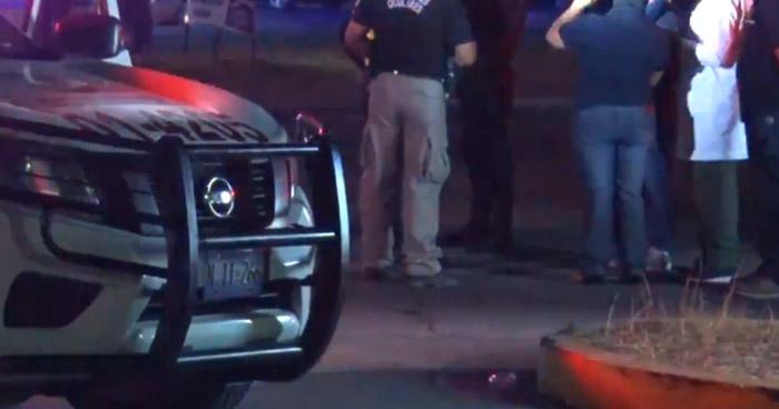 Patrulla de la PNC choca y mata a motociclista al realizar un giro indebido en Bulevar Constitución