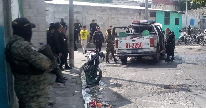 Capturan a sospechoso luego que patrulla fuera incendiada en comunidad Tutunichapa