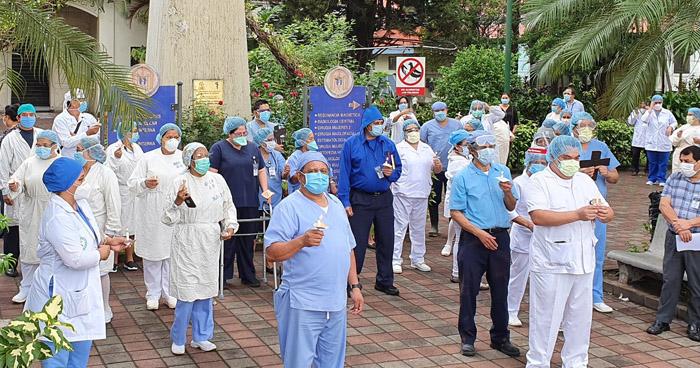 Personal de Salud pide a la Asamblea Legislativa mantener el Estado de Emergencia