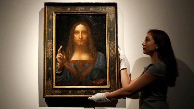 Pintura de Da Vinci se convierte en la obra de arte más cara de la historia