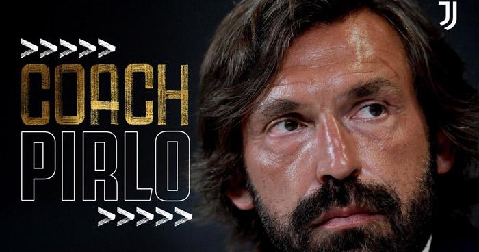 Andrea Pirlo es el nuevo técnico de la Juventus F.C.