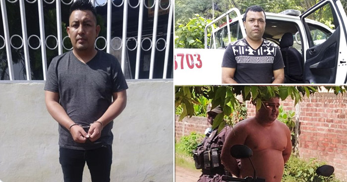 Capturan a 3 agentes de la PNC vinculados a un Grupo de Exterminio