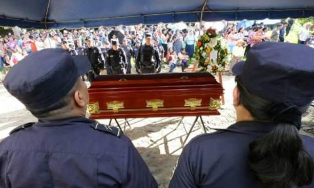 Más de 40 agentes de la PNC murieron en manos de la delincuencia este 2017