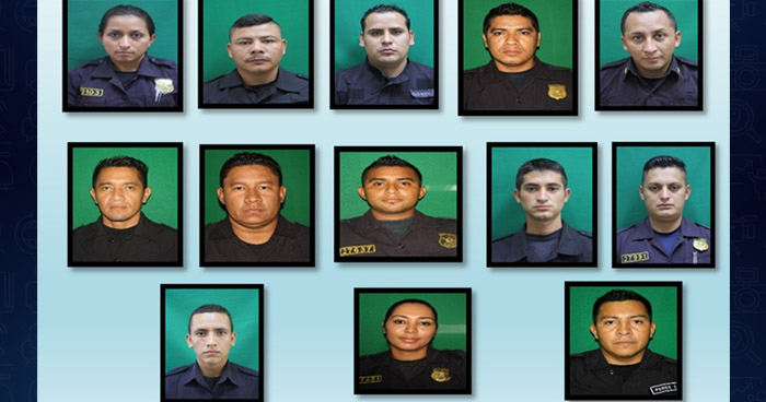 Docena de policías capturados por falsificar incapacidades