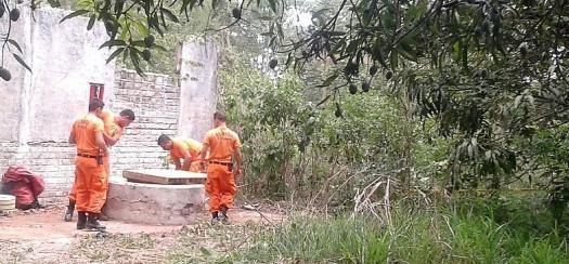 Encuentran restos humanos dentro de un pozo en Ciudad Delgado