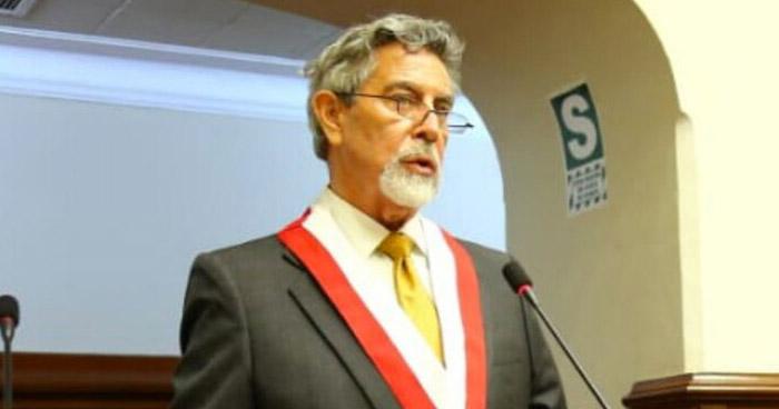 Francisco Sagasti es el tercer presidente de Perú en una semana