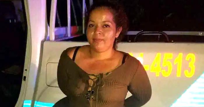 Prisión preventiva para mujer que hurtó patrulla policial en Altavista