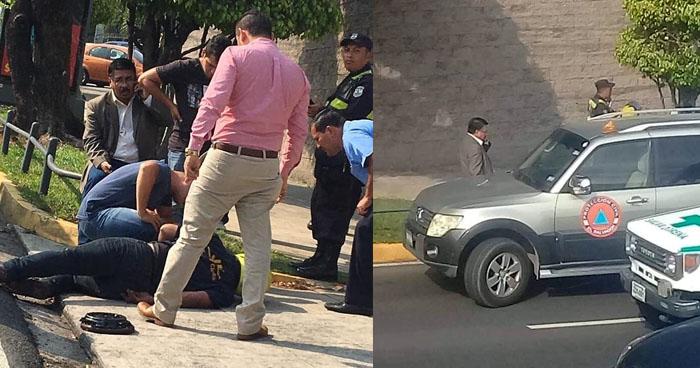 Director de Protección Civil arrolló a un motociclista en Bulevar Constitución