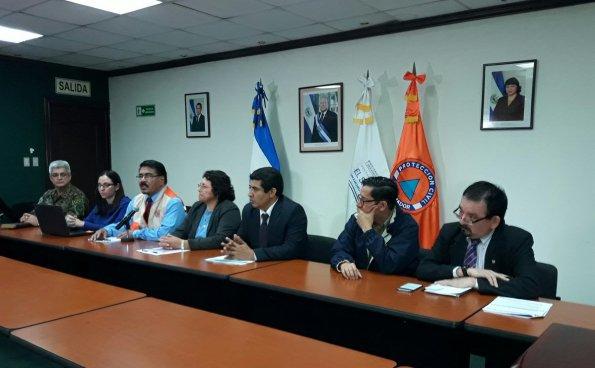 Protección civil emite Alerta Amarilla a nivel nacional y Naranja en Chalatenango