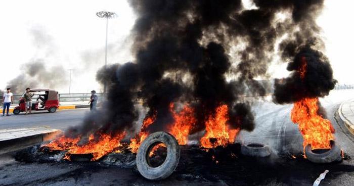 Más de 90 muertos en cuatro días de protestas en Irak