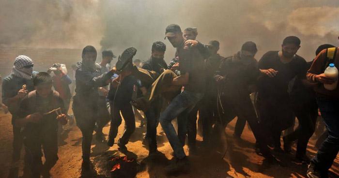 Al menos 41 muertos por protestas en Gaza de cara a la apertura de la embajada de EE.UU. en Jerusalén