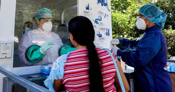 Instalan cabinas de diagnóstico de COVID-19 en Chalchuapa, Santa Ana