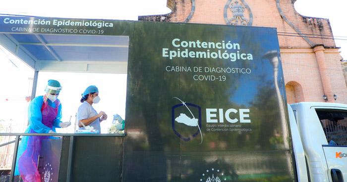 Realizan pruebas de COVID-19 en Apastepeque, San Vicente