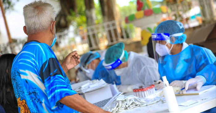 Realizan 300 pruebas PCR para detectar COVID-19 en Sonzacate, Sonsonate