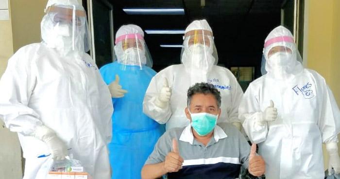 15 pacientes más recuperados de COVID-19 recibieron hoy el alta de diferentes hospitales