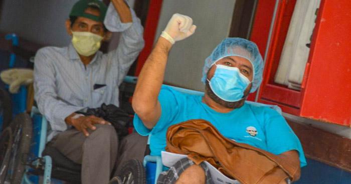 Ministerio de Salud da de alta a 10 pacientes más recuperados de COVID-19