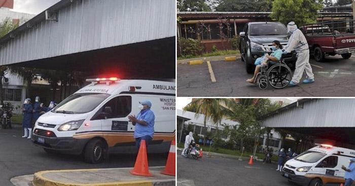Cinco pacientes recuperados de COVID-19 reciben el alta este domingo