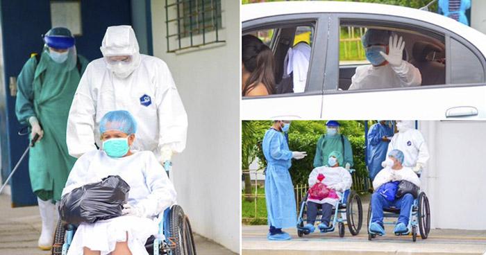 Siete pacientes más se recuperan de COVID-19 en Hospital San Rafael