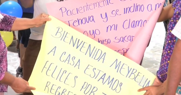 Salvadoreño se reencuentra con su hija luego que fueran separados en la frontera de Estados Unidos