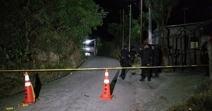 Dos pandilleros murieron tras enfrentarse a la PNC en Nahuizalco, Sonsonate