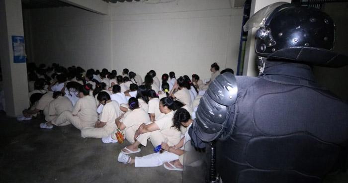 Requisa de emergencia en Cárcel de Mujeres por intento de amotinamiento