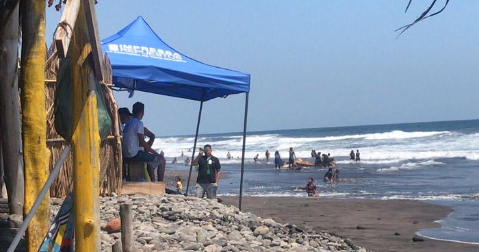 Guardavidas han realizado 5 rescates acuáticos en playas de La Libertad
