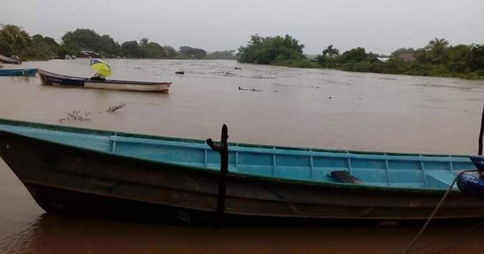 Encuentran cadáver flotando en río Goascorán en Pasaquina, La Unión