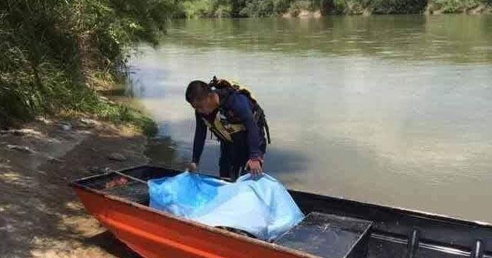 Salvadoreño muere al intentar cruzar el río Bravo en México