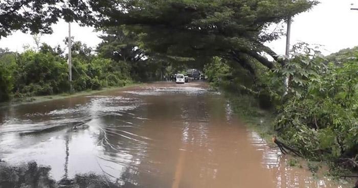 MARN advierte sobre alta probabilidad de desbordamiento de ríos y quebradas por lluvias
