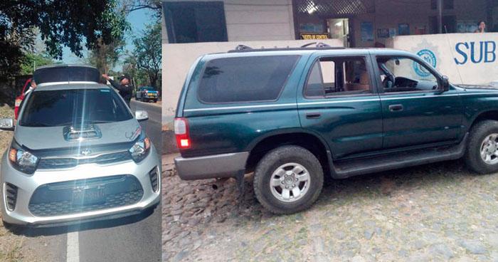 Salvadoreño detenido en Guatemala con vehículo robado en El Salvador