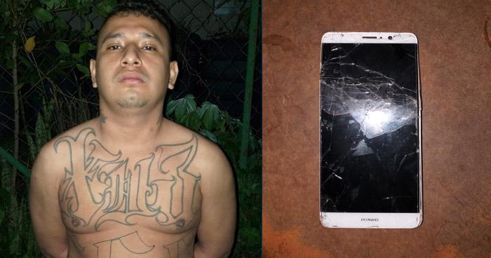 Capturan a pandillero luego que robara un celular en Soyapango