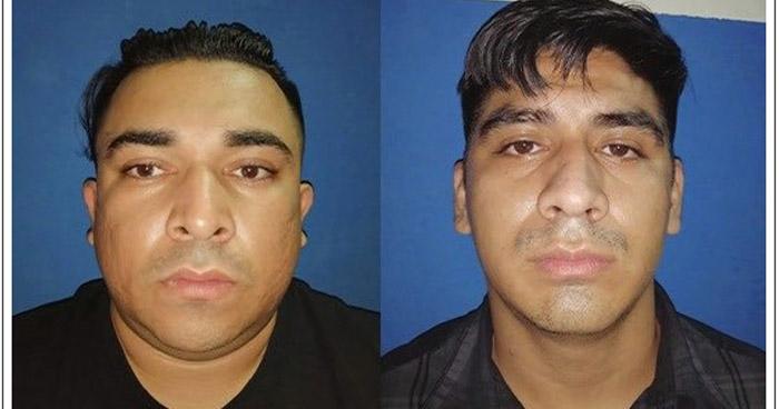 Incautan tarjetas de crédito y documentos de identidad a dos detenidos en San Salvador
