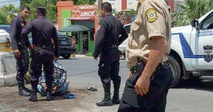 Detenido tras robar en ferretería en Sonsonate