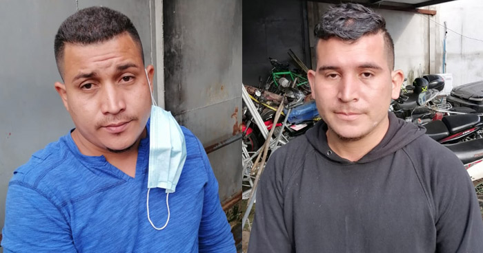 Capturados por robar $7.000 a una víctima en Chalchuapa