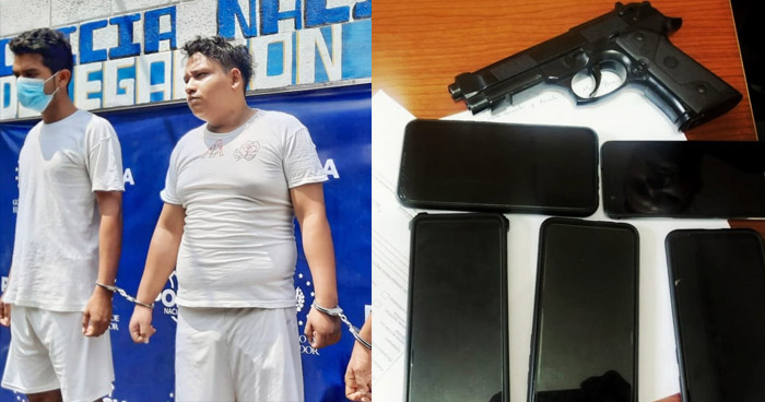Asaltaban con pistola de juguete en Sonsonate