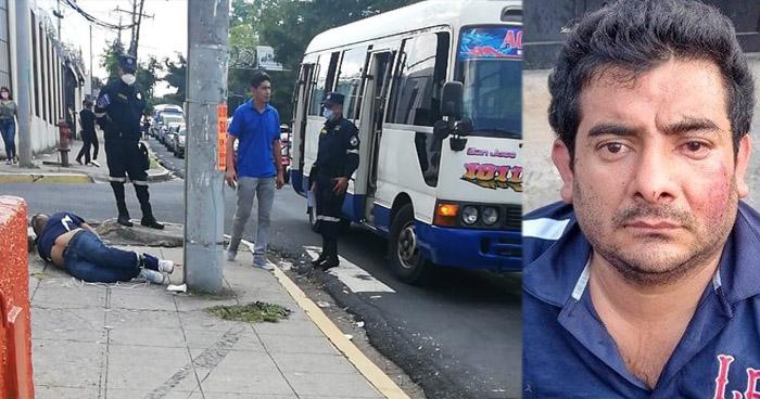 Identifican a asaltante que fue sometido por los pasajeros a los que pretendía asaltar